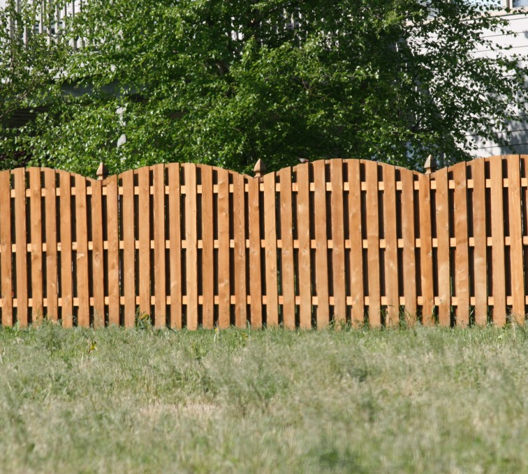 Under Amp Over Scallop Overscallop American Fence Company