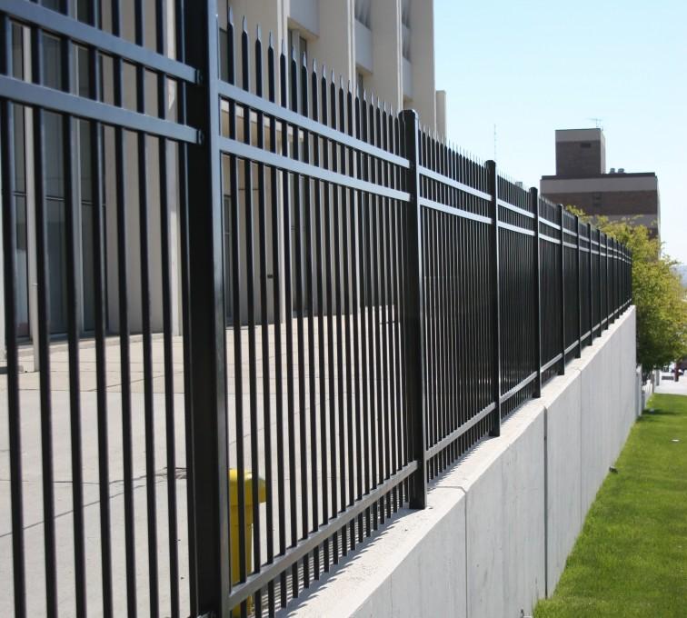 AFC Grand Island - Ornamental Fencing,1075 Classic Black Aegis II Energy Services Fence 2