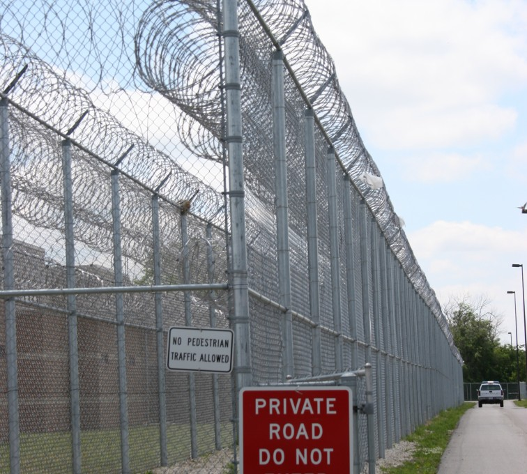 AFC Grand Island - High Security Fencing, 2103 Correctional fence with Concertina wire