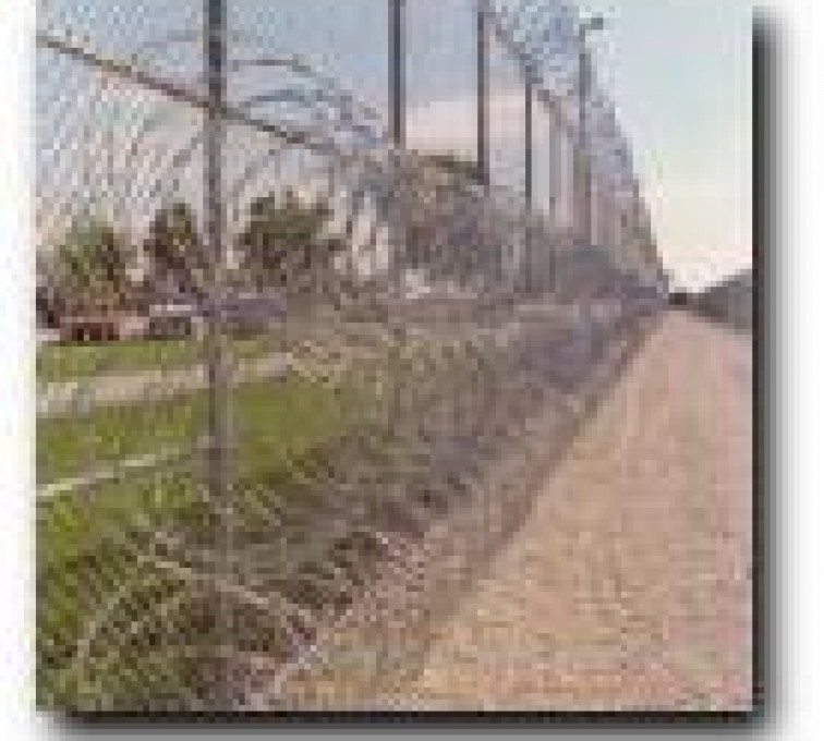 AFC Grand Island - High Security Fencing, 2105 concertina wire 3 coils