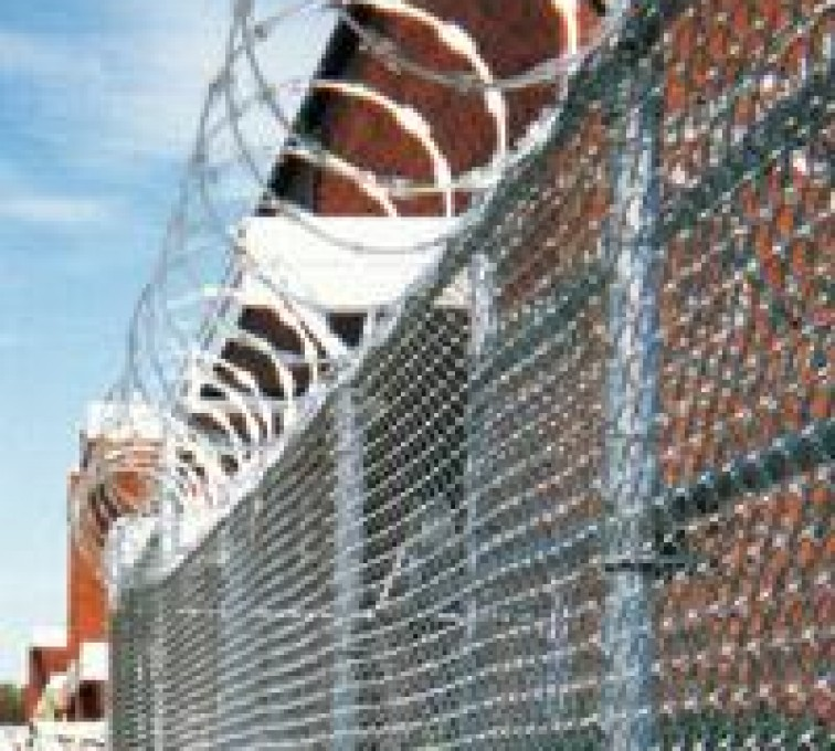 AFC Grand Island - High Security Fencing, 2106Concertina wire