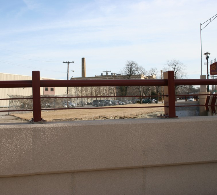 AFC Grand Island - Custom Railing, 2226 Knee Wall Railing