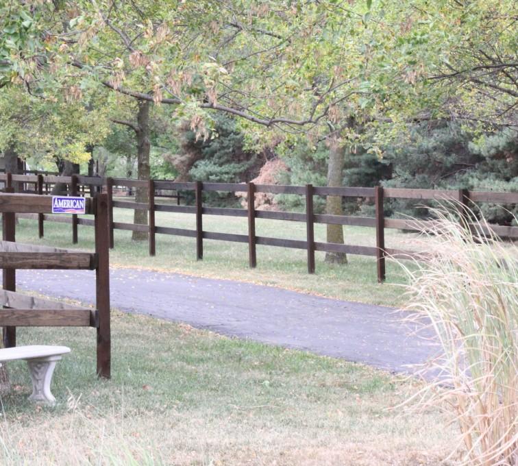 AFC Grand Island - Wood Fencing, 3 Rail Ranch Rail - Consbruck