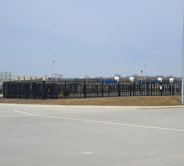AFC Grand Island - K-Rated Vehicle Restraint Systems Fencing, 8' Crash Rated Ornamental Impasse - AFC - IA
