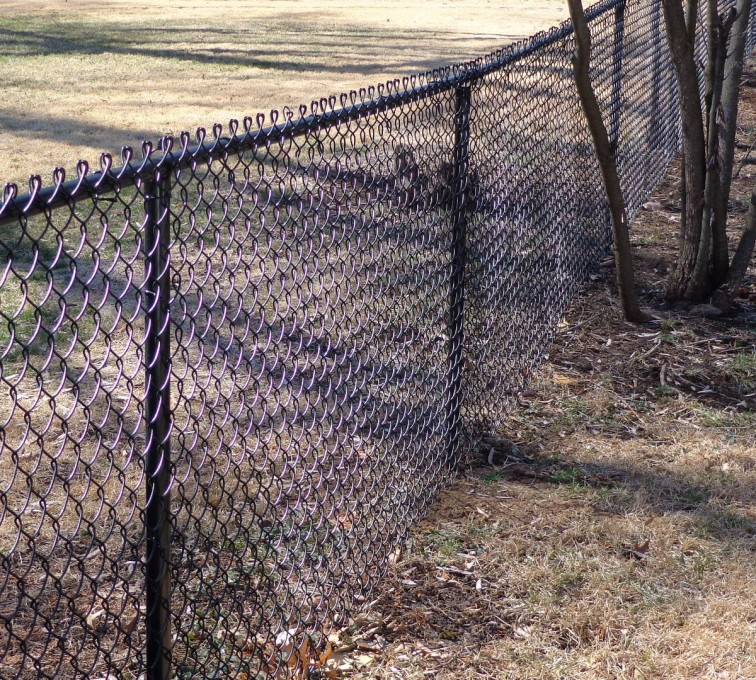 AFC Grand Island - Chain Link Fencing, 4' Black Vinyl Chain Link - AFC-KC