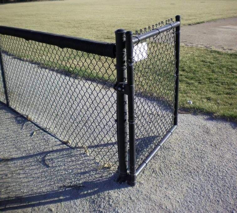 AFC Grand Island - Chain Link Fencing, Black Vinyl-AFC-Grand Island