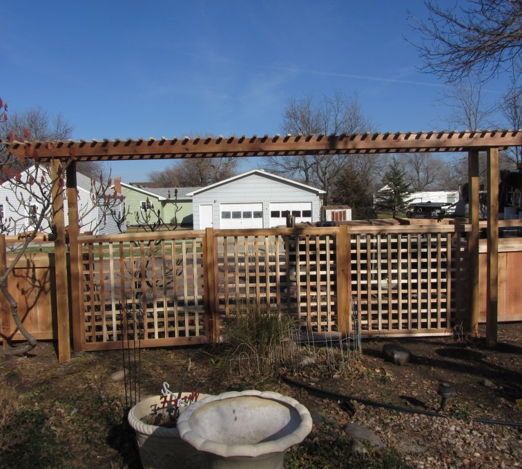 AFC Grand Island - Wood Fencing, Custom Cedar 11
