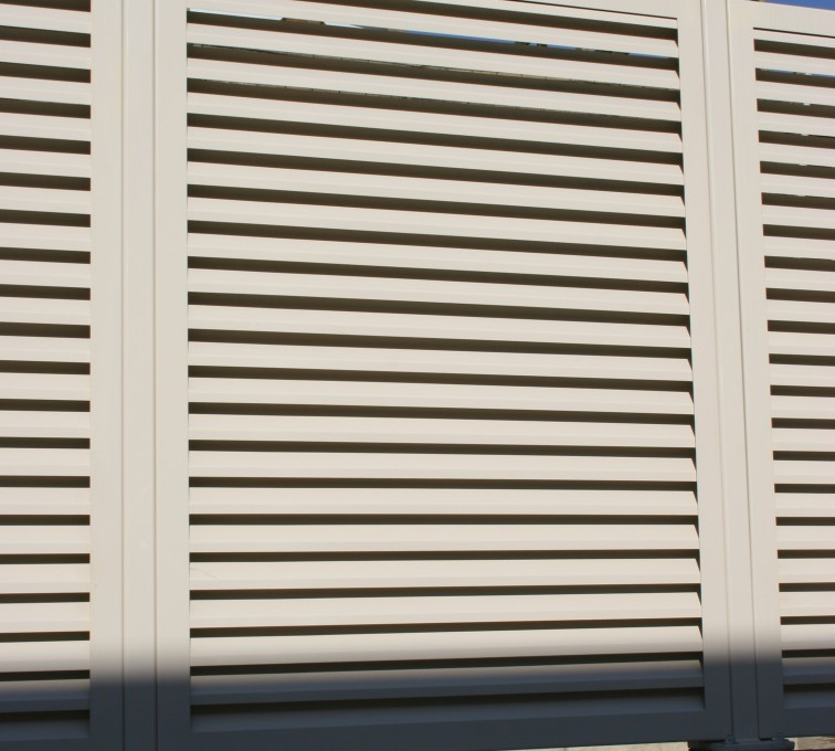 AFC Grand Island - Louvered Fence Systems Fencing, Louvered Fence Panel