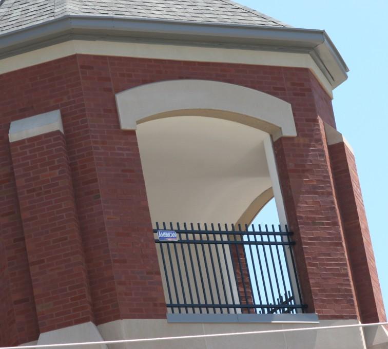 AFC Grand Island - Ornamental Fencing, Ornamental Fence In Bell Tower (2)