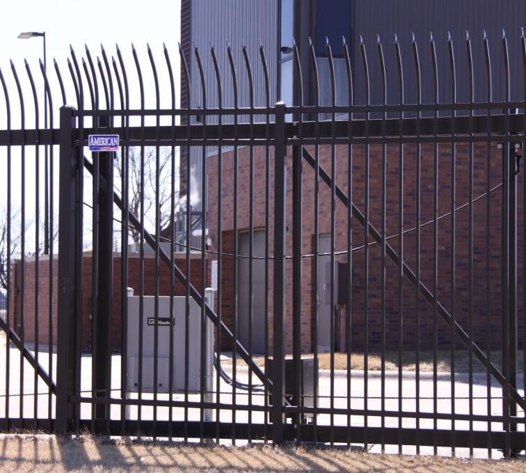 AFC Grand Island - Custom Gates, Ornamental Slide Gate