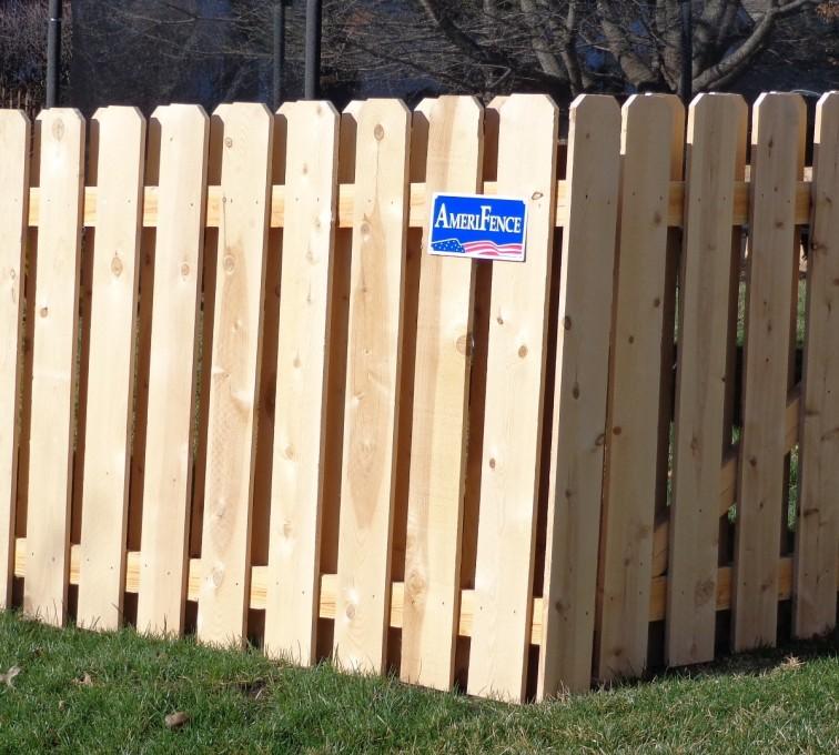 AFC Grand Island - Wood Fencing, Board on Board - AFC-KC
