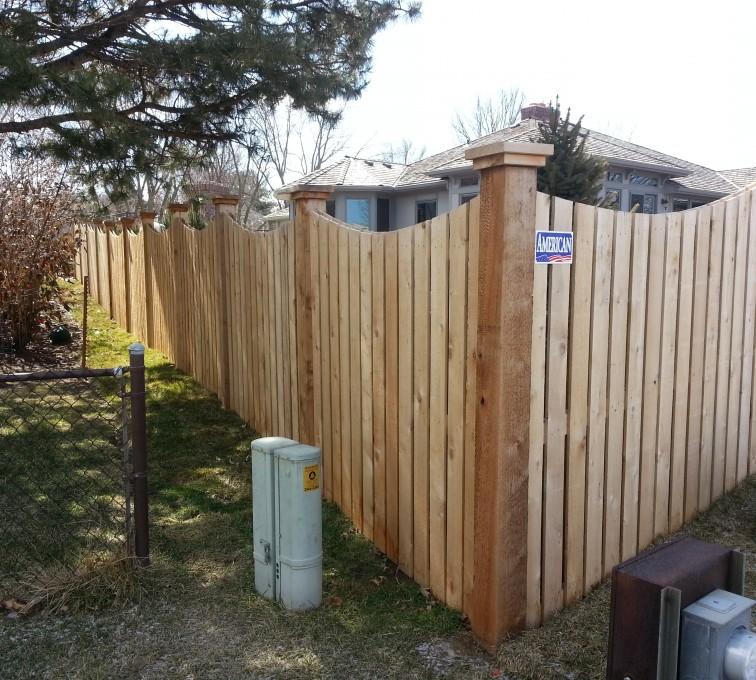 AFC Grand Island - Wood Fencing, Custom WD 9922 Devonshire