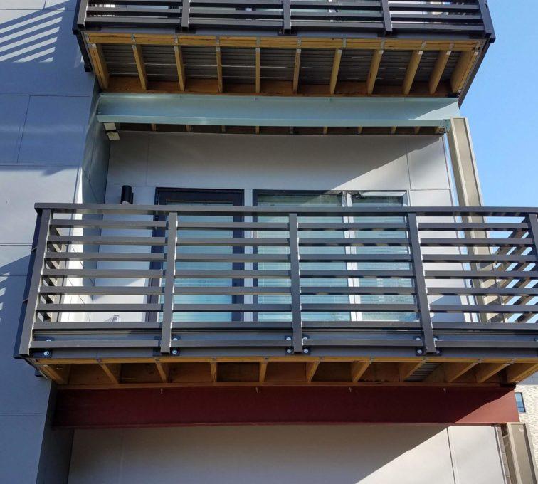 Custom Metal Deck Rail